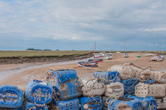 Förenade kungariket - brunnar därefter havet Royaltyfri Fotografi