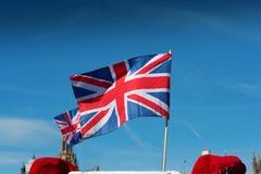 Förenade kungariket flagga royaltyfria bilder