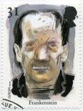 FÖRENADE KUNGARIKET - 1997: visar det Frankenstein monstret, serieberättelserna och legenderna Arkivbild