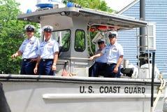 förenade kustbevakningtillstånd Royaltyfri Foto