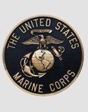 förenade marin- tillstånd för kåremblem Royaltyfri Foto