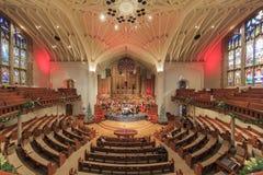 Förenade metodistkyrkan för jul först av Pasadena Royaltyfria Bilder