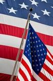 förenade tillstånd för Amerika flagga s Royaltyfri Fotografi