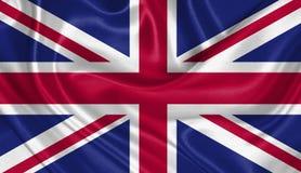förenat flaggakungarike Arkivbild