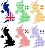 förenat kungarike royaltyfri illustrationer