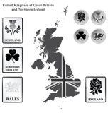 förenat kungarike Arkivbilder