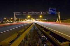 föreningspunktmotorway royaltyfria bilder