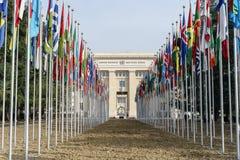 Förenta Nationerna i Genève Royaltyfri Fotografi