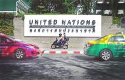 Förenta Nationerna samkväm och Economcis kommission för Asien och Stillahavs- (USA-ESCAP) Arkivbild