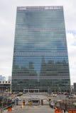 Förenta Nationerna som bygger i Manhattan Royaltyfri Foto