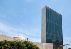 Förenta Nationerna som bygger i New York Royaltyfria Foton