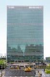 Förenta Nationerna som bygger i New York Fotografering för Bildbyråer