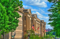Förenta staternaavdelningen av kommers i Washington, D C Royaltyfri Bild