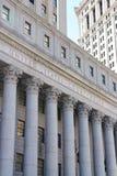 Förenta staternadomstolsbyggnad arkivbild