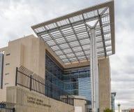 Förenta staternadomstolsbyggnad i Las Vegas Nevada Arkivbilder