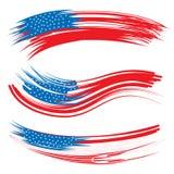 Förenta staternaflaggmärkesdag Fotografering för Bildbyråer