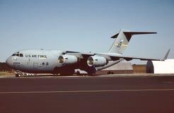 Förenta staternaflygvapen C-17A Globemaster III 96-0004 Arkivbild
