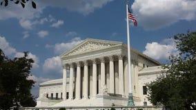 Förenta staternahögsta domstolenbyggnad, Washington, DC stock video