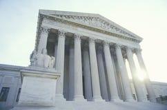 Förenta staternahögsta domstolenbyggnaden, Washington, D C Fotografering för Bildbyråer