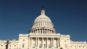 Förenta staternaKapitoliumbyggnad, Washington, DC lager videofilmer