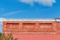Förenta staternastolpe - kontor Royaltyfri Foto