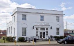 Förenta staternastolpe - kontor, Holly Springs, ms royaltyfri fotografi
