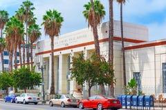 Förenta staternastolpe - kontor på den Hollywood boulevarden i Hollywood royaltyfria foton