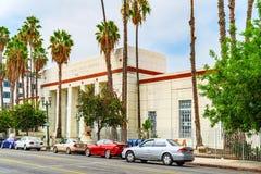 Förenta staternastolpe - kontor på den Hollywood boulevarden i Hollywood arkivbild