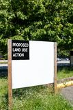 Föreslåget tecken för handling för landbruk Arkivfoton