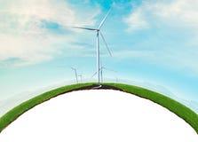 Föreställ av miljöconcep royaltyfria bilder