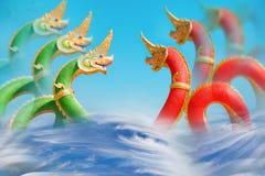 föreställ konungen av nagas Arkivfoto