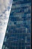 företags byggande Arkivbild