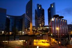 företags byggnader Royaltyfri Bild