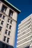 företags byggnader Royaltyfria Foton