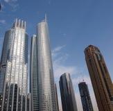 företags byggnader Arkivfoton