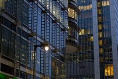 Företags byggnader Arkivbilder