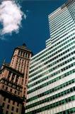 företags byggnader Arkivfoto