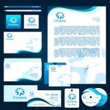 företags designmall Royaltyfria Bilder