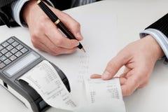 Företags finanser Arkivbilder