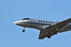 företags flygplan royaltyfri bild