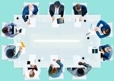 Företags funktionsdugligt kontor Team Professional Conce för affärsfolk Royaltyfria Foton