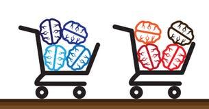 företags head hyra jakttalang för begrepp stock illustrationer