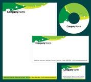 företags identitet royaltyfri illustrationer