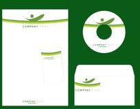 företags identitet stock illustrationer