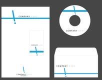 företags identitet vektor illustrationer