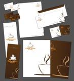 Företags identitetsmall Royaltyfri Fotografi