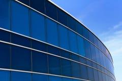 Företags industriell byggnad Royaltyfri Foto