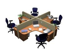 företags kontor Arkivfoto