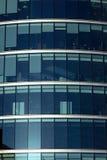 företags kontorsfönster Arkivbilder