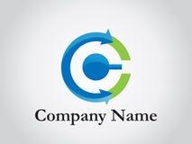 företags logo Royaltyfri Fotografi